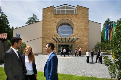 Aussenansicht des Tagungszentrum in Bad Wörishofen